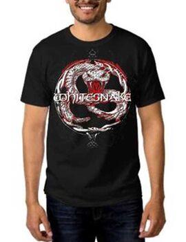 Rock t-shirt με στάμπα Whitesnake Back To The Bone