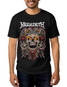 Rock Black t-shirt Megadeth