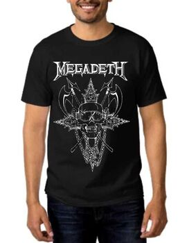 Heavy metal t-shirt Megadeth Cryptic Writings of Megadeth