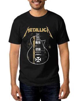Rock t-shirt Metallica James Hetfield Gibson Guitar