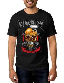 Rock Black t-shirt  Metallica Met Club 2004 Concert Tour