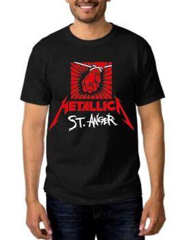 Rock Black t-shirt Metallica St. Anger