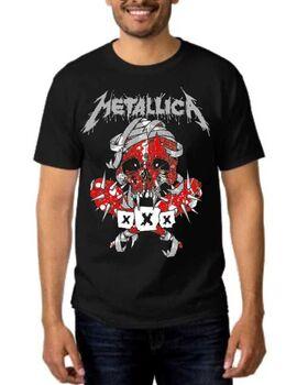 Rock Black t-shirt METALLICA Seek & Destroy