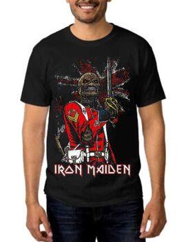 Heavy metal t-shirt με στάμπα Iron Maiden