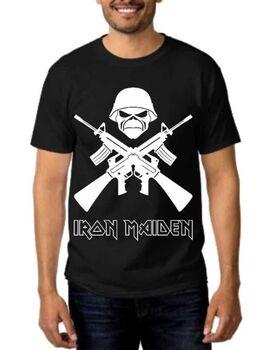 Heavy metal t-shirt με στάμπα Iron Maiden A Matter of Life
