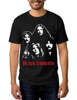 Rock t-shirt με στάμπα Black Sabbath Breaking The Band