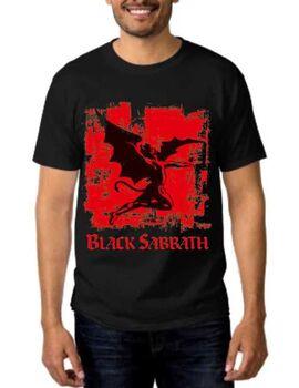 Rock t-shirt με στάμπα Black Sabbath Fallen Angel