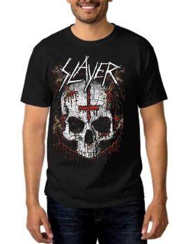 Rock t-shirt  Slayer Ritual Skull