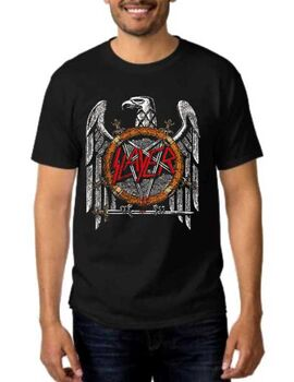 Rock t-shirt Slayer Silver Eagle