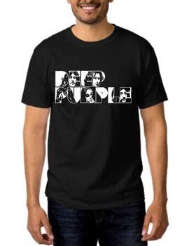 Rock t-shirt με στάμπα Deep Purple