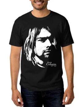 Rock t-shirt Nirvana Kurt Cobain
