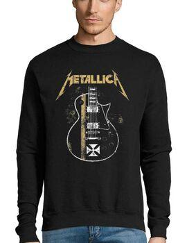 Μπλούζα Φούτερ με στάμπα Metallica James Hetfield Gibson Guitar