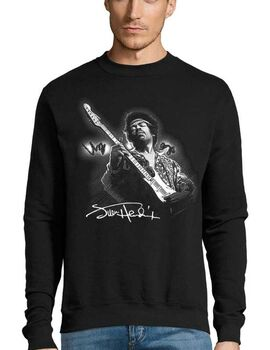 Μπλούζα Φούτερ Sweatshirt Rock Jimi Hendrix Monterey Magic