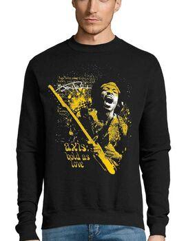 Μπλούζα Φούτερ Sweatshirt Rock Jimi Hendrix Axis Bold As Love T-Shirt
