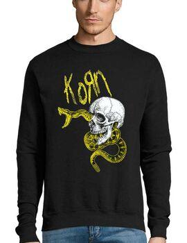 Μπλούζα Φούτερ με στάμπα Korn