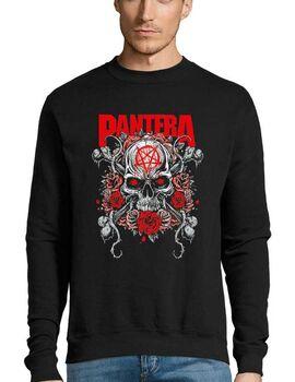 Μπλούζα Φούτερ με στάμπα Pantera Skull