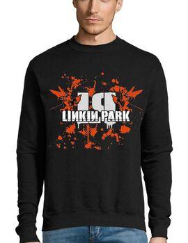 Μπλούζα Φούτερ με στάμπα Linkin Park Hybrid Theory