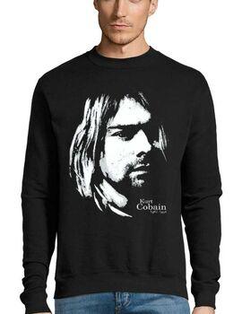 Μπλούζα Φούτερ Sweatshirt Rock Kurt Cobain Nirvana