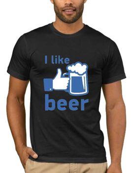 Αστεία T-shirts I Like Beer