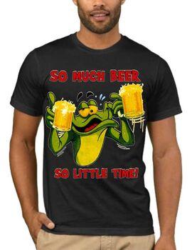 Αστεία T-shirts So Much Beer So Little Time
