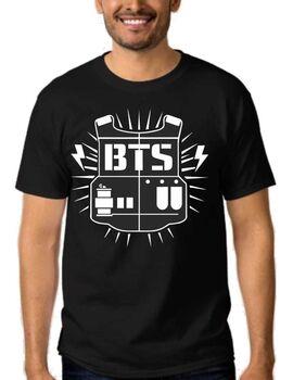 Μπλούζα με στάμπα BTS