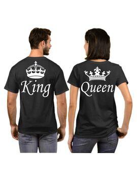 Μπλούζα T-shirt King and Queen