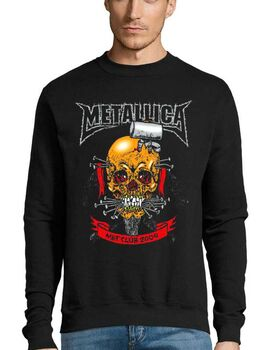 Μπλούζα Φούτερ με στάμπα Metallica Met Club 2004 Concert Tour