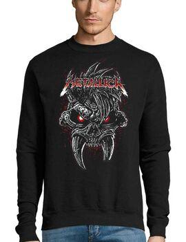 Μπλούζα Φούτερ με στάμπα Metallica Scary Guy