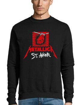 Μπλούζα Φούτερ με στάμπα Metallica St Anger