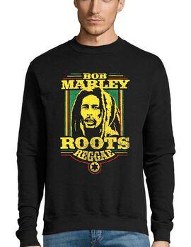 Μπλούζα Φούτερ με στάμπα Bob Marley Roots Reggae