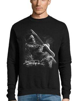 Μπλούζα Φούτερ με στάμπα Jimi Hendrix