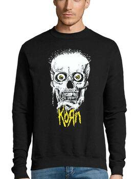 Μπλούζα Φούτερ με στάμπα Korn Giant Skull