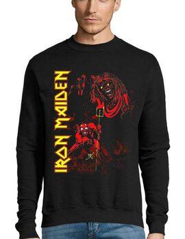 Μπλούζα Φούτερ με στάμπα Iron Maiden Number of the Beast
