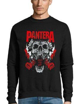 Μπλούζα Φούτερ με στάμπα Pantera Mouth For War