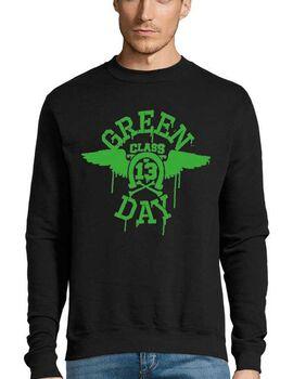 Μπλούζα Φούτερ με στάμπα Green Day Class 13