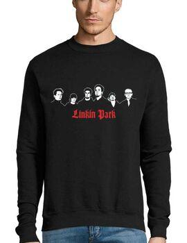 Μπλούζα Φούτερ με στάμπα Linkin Park The Band
