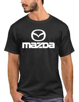 Μπλούζα αυτοκινήτου με στάμπα MAZDA