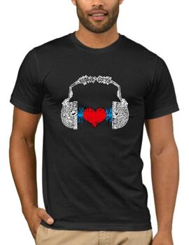 Μπλουζάκι,φούτερ κουκούλα & φούτερ χωρίς κουκούλα με στάμπα  Music t-shirt