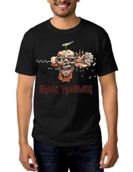 Heavy metal t-shirt με στάμπα Iron Maiden Can I Play With Madness
