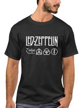 Μπλουζάκι,φούτερ κουκούλα & φούτερ χωρίς κουκούλα με στάμπα Led Zeppelin