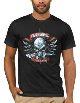 Rock t-shirt SCORPIONS DJ1403