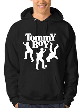 Μπλουζάκι,φούτερ κουκούλα & φούτερ χωρίς κουκούλα με στάμπα Hip Hop Tommy Boy Records