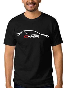 Μπλούζα αυτοκινήτου με στάμπα Toyota CHR