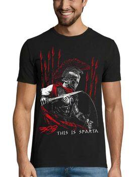Μπλουζάκι με στάμπα This is Sparta 300