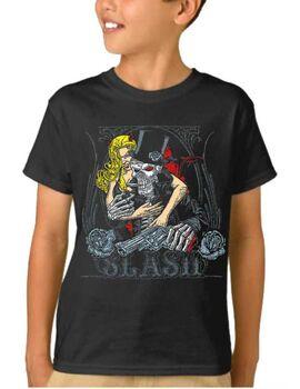 Παιδικό μπλουζάκι με στάμπα Guns N Roses Slash