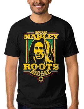 Mπλούζα με στάμπα Bob Marley Roots Reggae