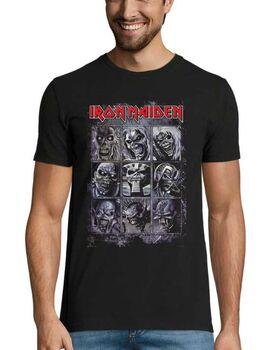 Heavy metal t-shirt με στάμπα Iron Maiden T Shirt Nine Eddies Montage Killers Logo
