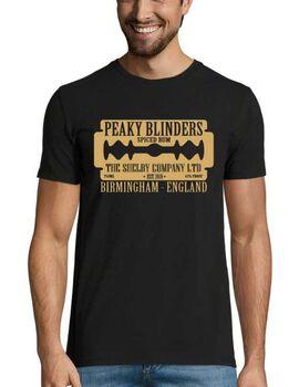 Μπλούζα με στάμπα Peaky Blinders Spiced Rum T-Shirt Birmingham England