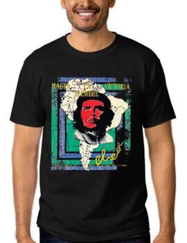 Μπλούζα t-shirt Che Quevara Hasta La Victoria Siempre