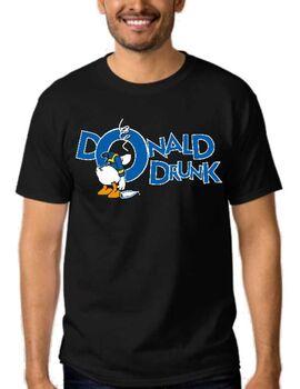 Αστεία T-shirts Donald Drunk